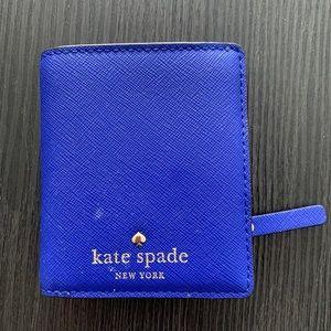 Kate Spade Wallet it Cobalt Blue